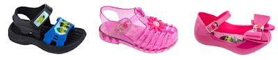 Modelos dos calçados com o tema Bom dia & Cia - Divulgação