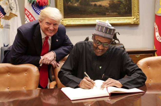 My meeting with Buhari was 'so lifeless', Trump