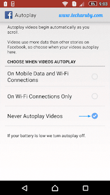 facebook auto play video