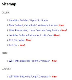 begini Cara Mudah banget Membuat Sitemap Untuk Blog atau blogger kalian
