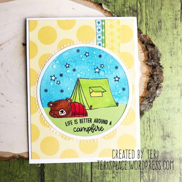 Sunny Studio Stamps: Critter Campout Customer Card Share by Teri Anderson