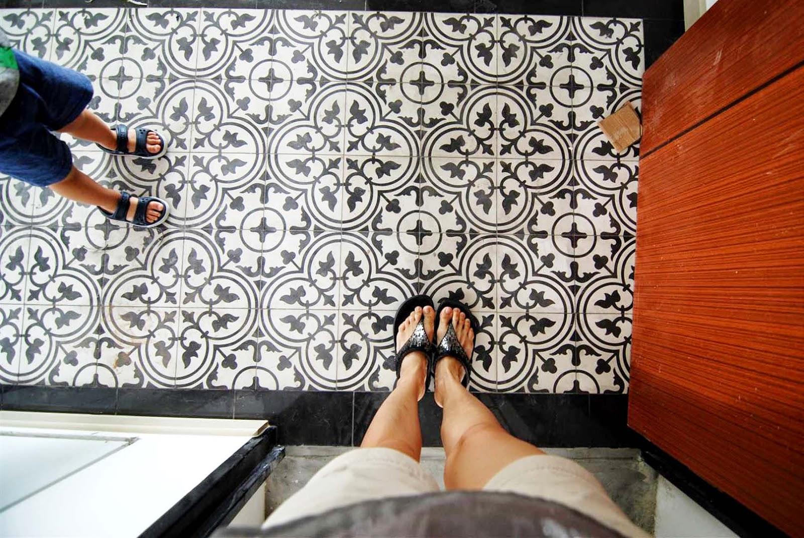 Butterpaperstudio Reno Yishun Riverwalk Pattern Tiles