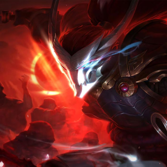 Blood Moon Yasuo Wallpaper Engine