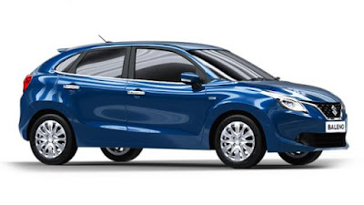 New 2016 Maruti Suzuki Baleno side view