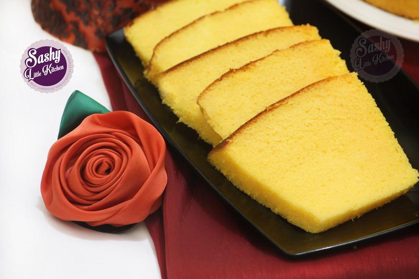 Orange Chiffon Cake Putih Telur Sashy Little Kitchen