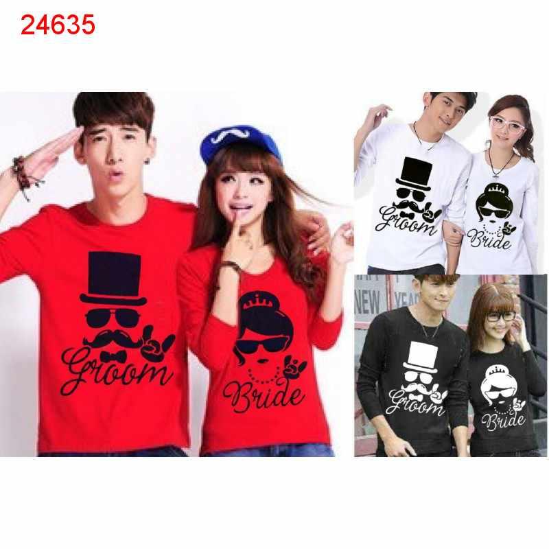 Jual Couple Lengan Panjang LP Groom - 24635
