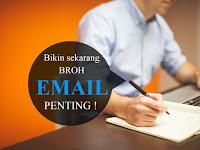 Cara membuat email baru dengan gmail