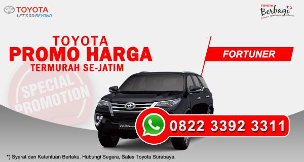 Promo Harga Toyota Fortuner Surabaya