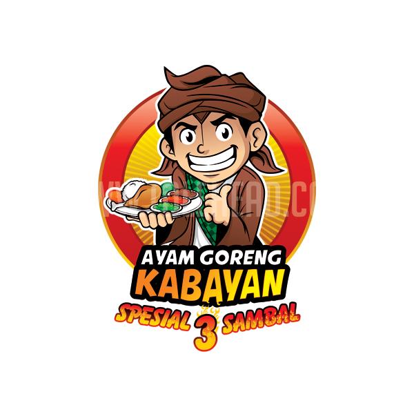 contoh logo makanan keren dan juga simpel