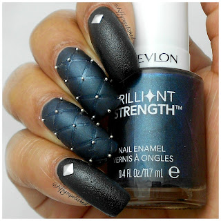 Plush_Vampy_Quilted_Nails_Revlon_Brilliant_Strength_Beguile_Revlon_Leather_Cuir_Motorcycle_Jacket_Pure_Ice_Frost_Finish