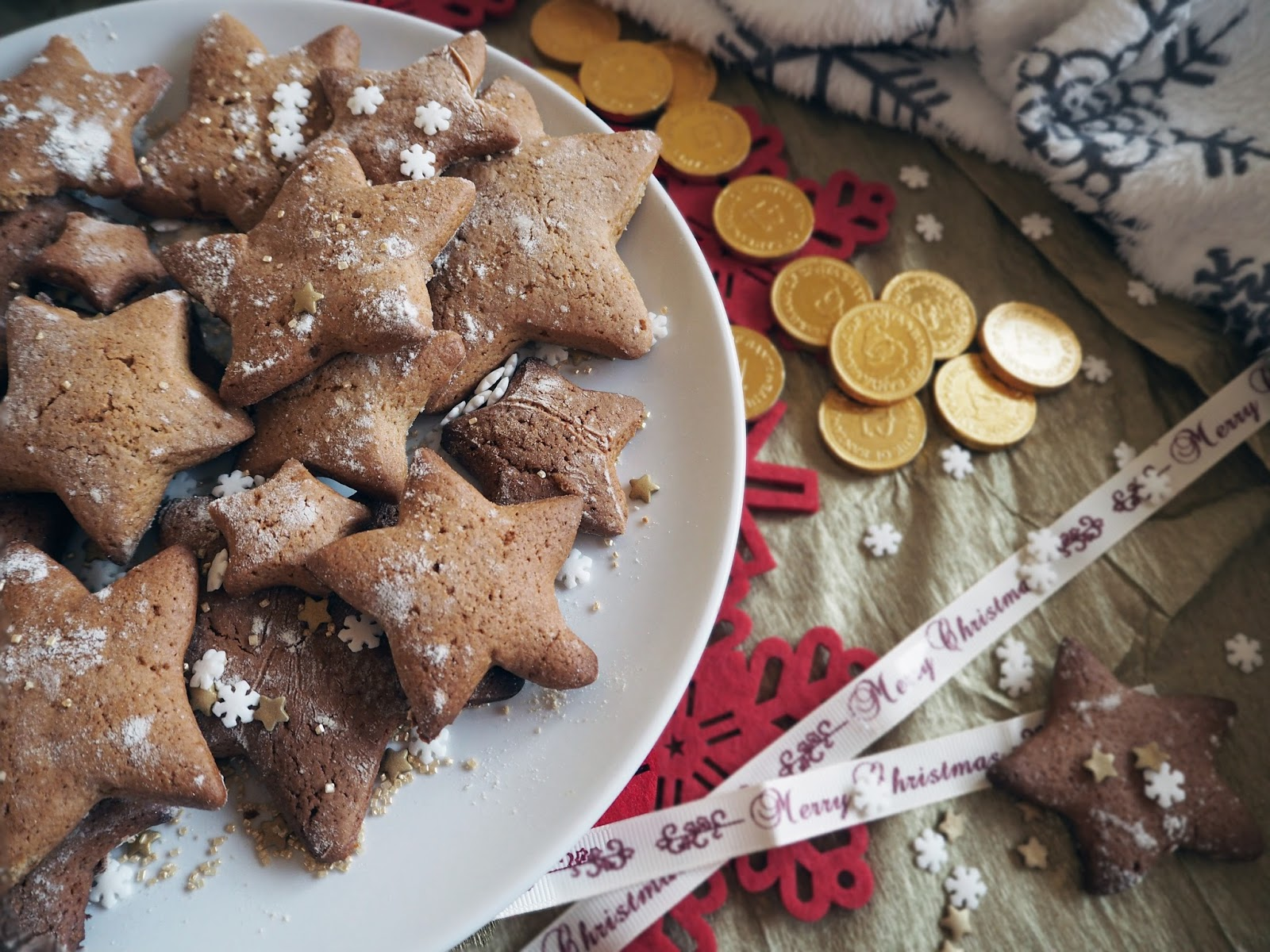 Gingerbread Christmas Cookies Lauren Rose Style London Fashion