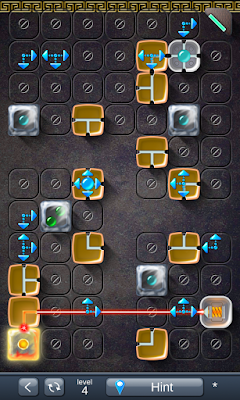 Solution for Laser Box - Puzzle (Royal) Level 4