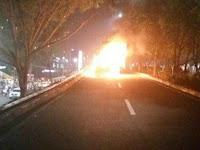 "Polisi Sebut Mobil Misterius Terbakar di acara Habib Rizieq, DPR: ""Jangan bilang misterius. bilang aja Teroris"""