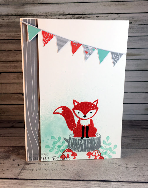 Foxy Friends - Narelle Fasulo -Simply Stamping with Narelle - available here - http://www3.stampinup.com/ECWeb/ProductDetails.aspx?productID=141549&dbwsdemoid=4008228