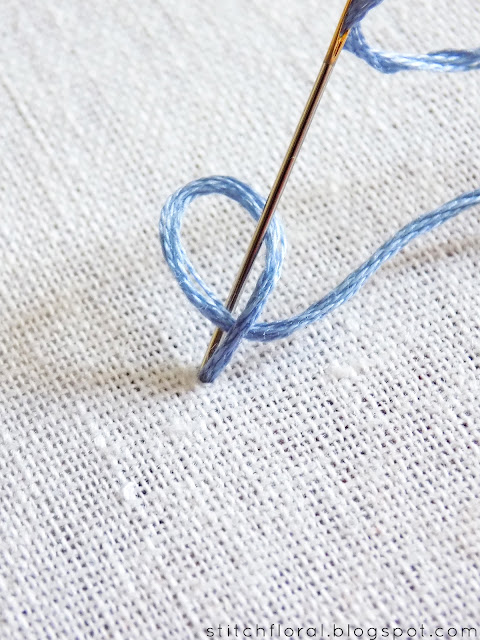How to stitch Chinese knot