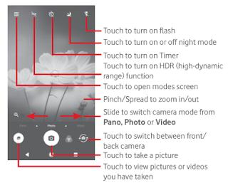 Vodafone Smart N8 - Using Camera