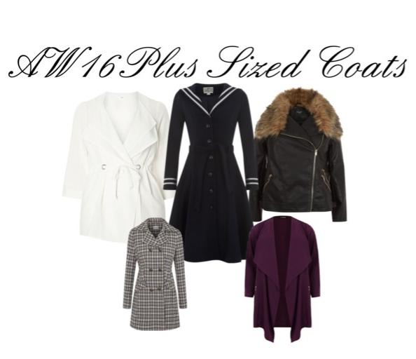 AW16 Plus Sized Coats