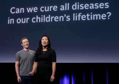 Mark Zuckerberg and wife Priscilla pledge $3bn to wipe out ALL disease in 80 years