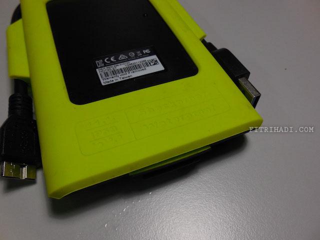 (Ulasan) External Hard Disk Adata HD720 Yang Lasak