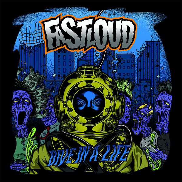 "Fastloud stream new album ""Dive In A Life"""