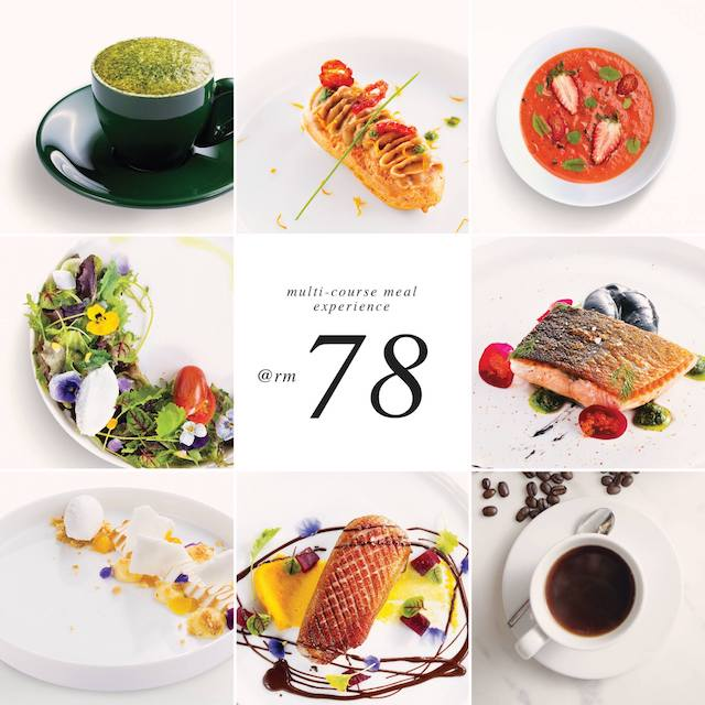 The Journey Of Flavours - Multi-Course Meal Experience at only RM78