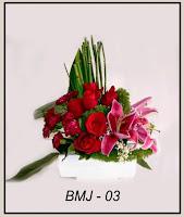 Bunga Meja Valentine