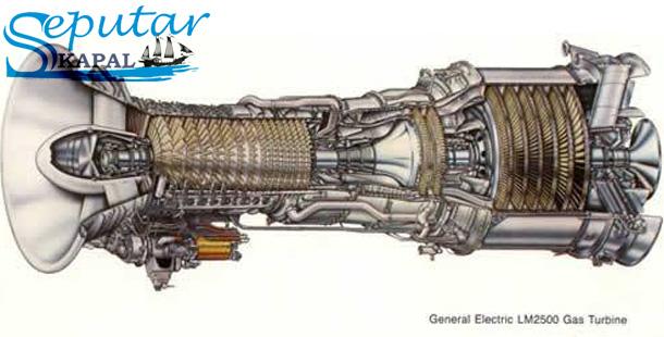 Mesin Turbin Gas LM2500