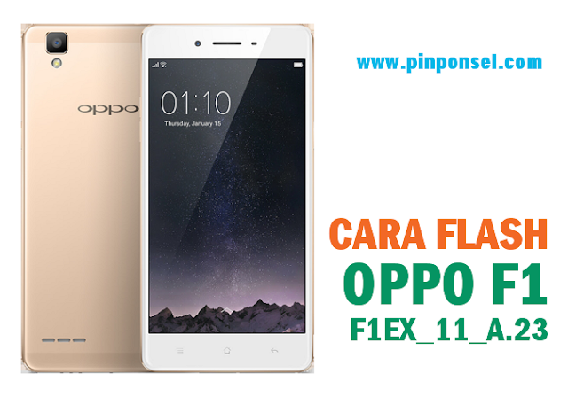 cara flash oppo f1 tanpa pc via sd card