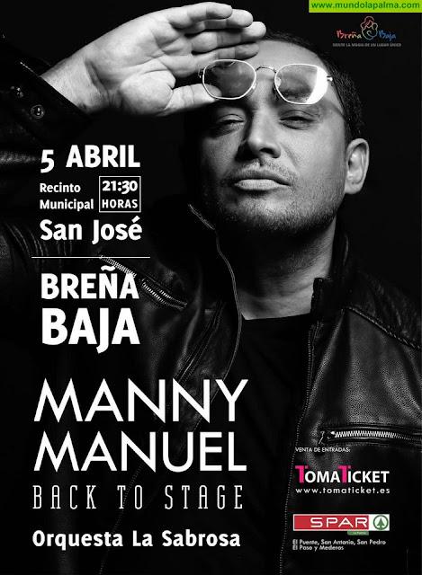 """BREÑA BAJA: Manny Manuel trae su espectáculo """"Back to Stage"""""""