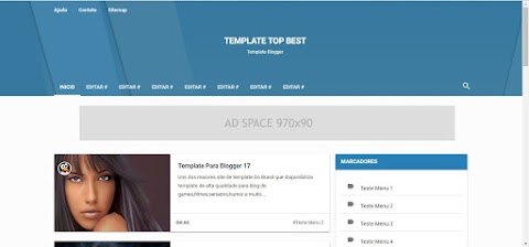 Template blogger design responsivo