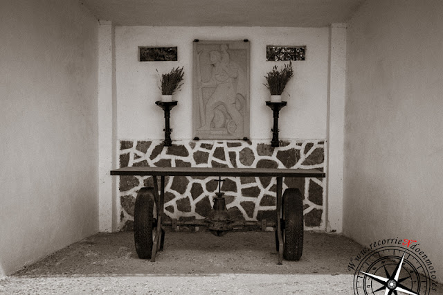 Altar de la Gasolinera Espiritual de Villarrubio