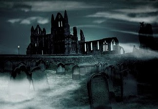 Graveyard of Whitby Abbey