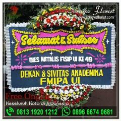 Toko Karangan Bunga Papan Selamat di Mustika Jaya Bekasi