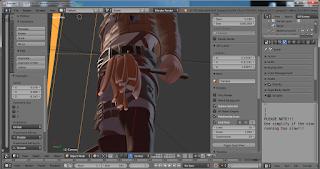 Screenshot 3 :  Blender