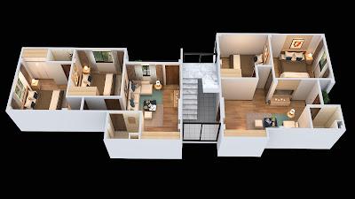 thiết kế chung cư Minh Đại Lộc 2