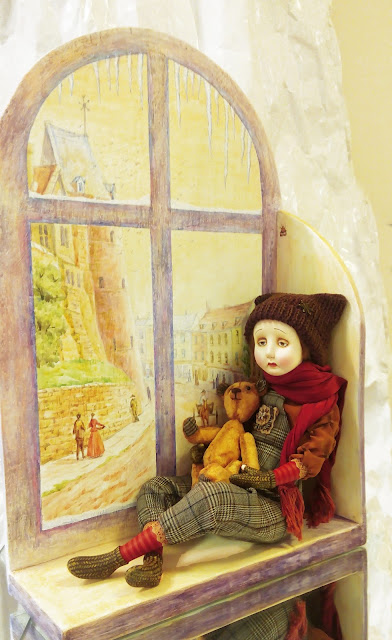 """Наталья Аказина (Самара) """"Ностальгия"""". Выставка авторской куклы в Самаре """"Куклы. Эмоции. Чувства."""""""