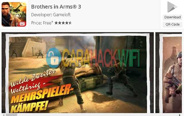 Brothers in Arms 3 game android multiplayer wifi