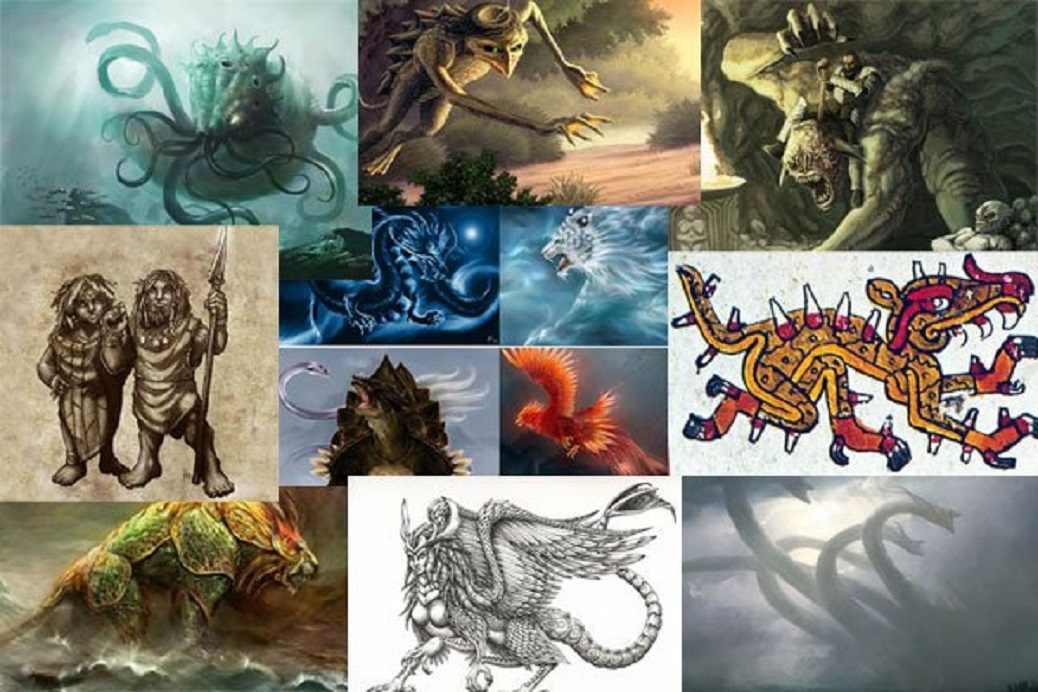 Dez Criaturas Mitológicas do Folclore Antigo