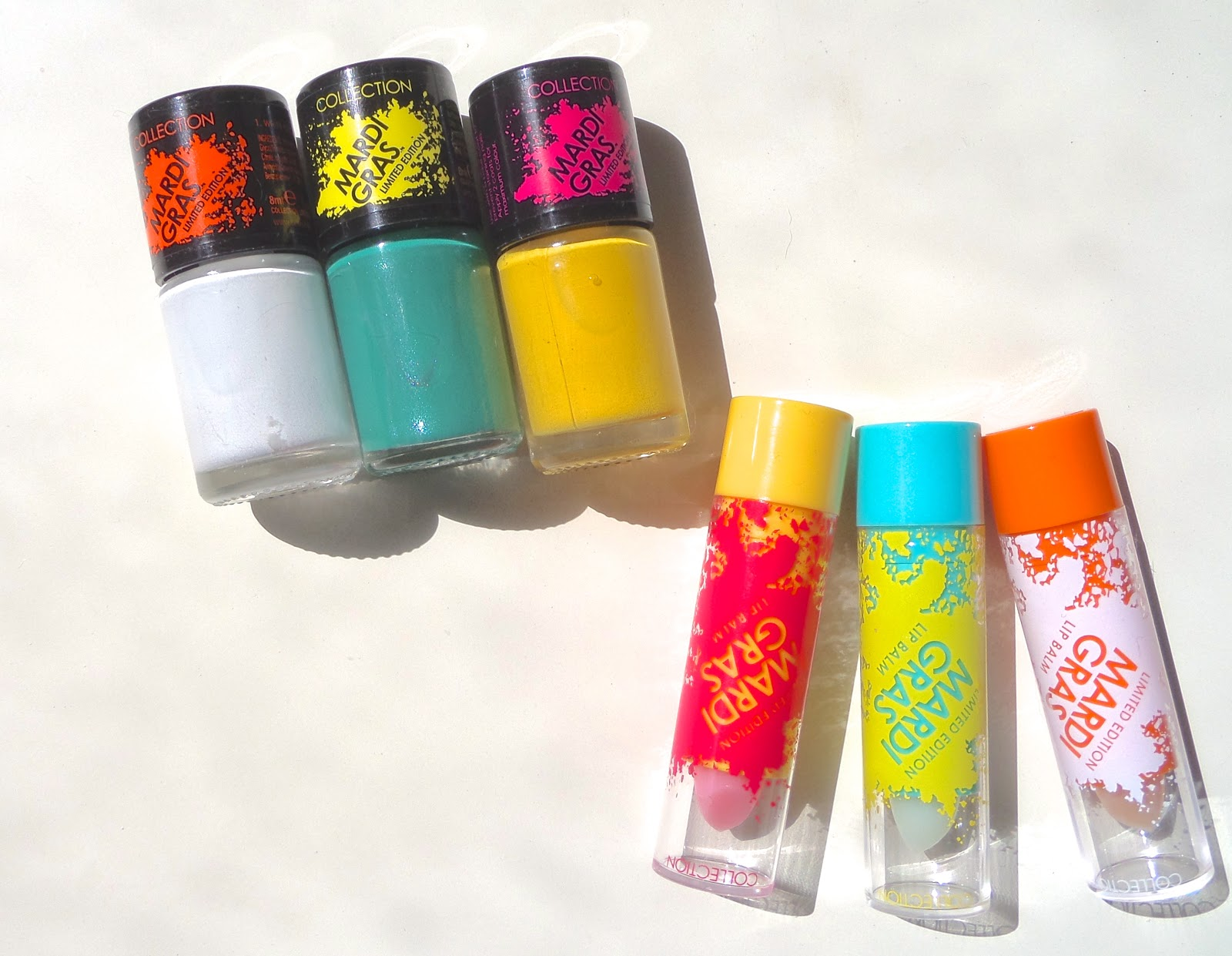 Collection Cosmetics Mardi Gras Summer Collection Review and Swatches