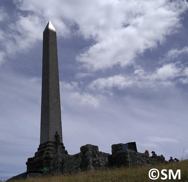 Photo de l'obelisque de One Tree Hill Auckland Nouvelle-Zélande