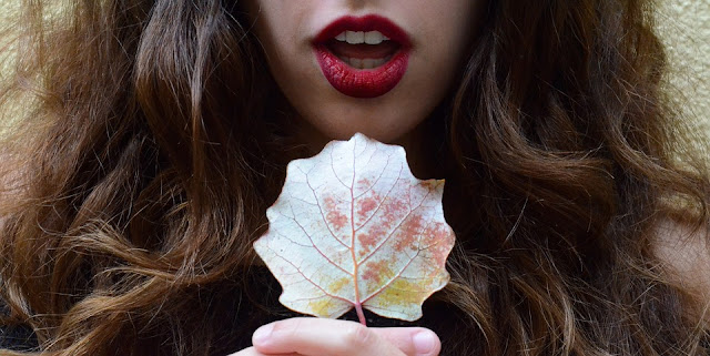 Wear a red lipstick