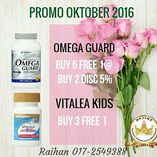 Promo Shaklee Oktober 2016
