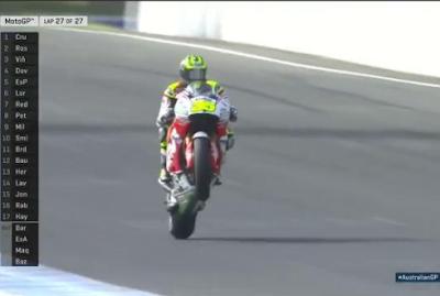 Crutchlow Menangi GP Australia, Rossi Kedua, Marquez Jatuh