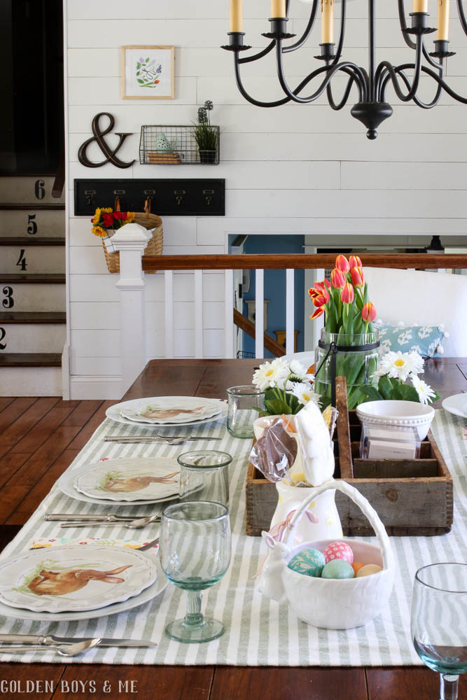 Plank Wall Shiplap In Dining Room And Entryway With Gallery