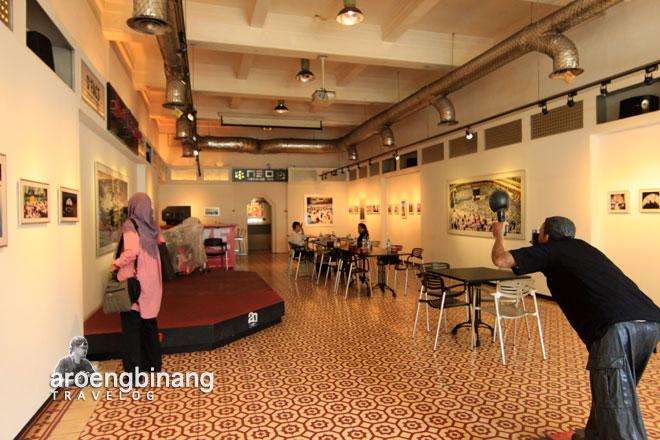 museum dan galeri foto jurnalistik antara jakarta