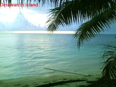 Derawan Island in Kalimantan