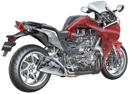 British Motorcycle Engine Uses Honda Vfr1200 News Motobikes