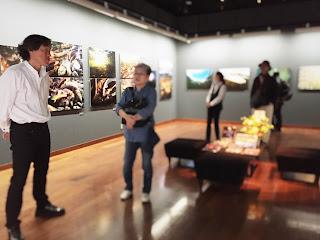 """""""Tamagawa"""" exhibition, Canon Gallery, Tokyo, Japan."""