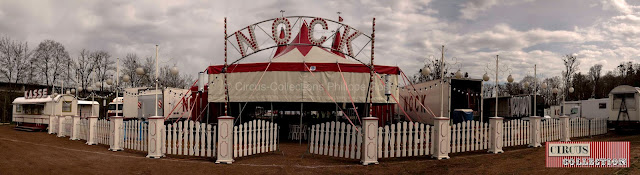 façade et barrière du cirque Nock