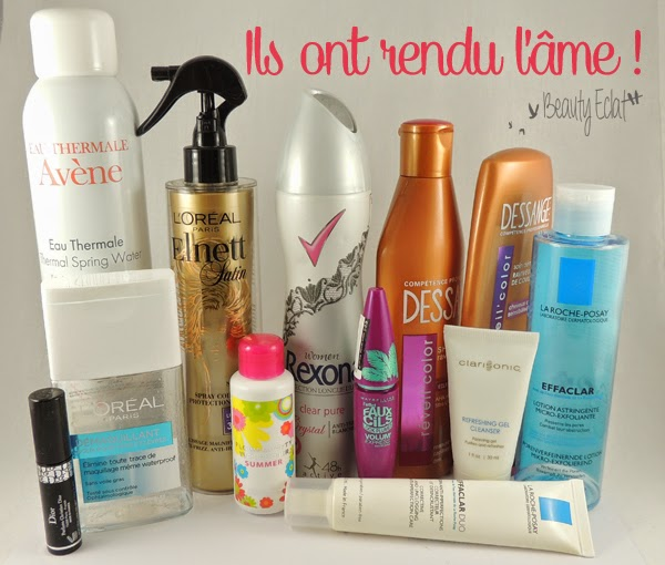 produits termines soins cheveux maquillage